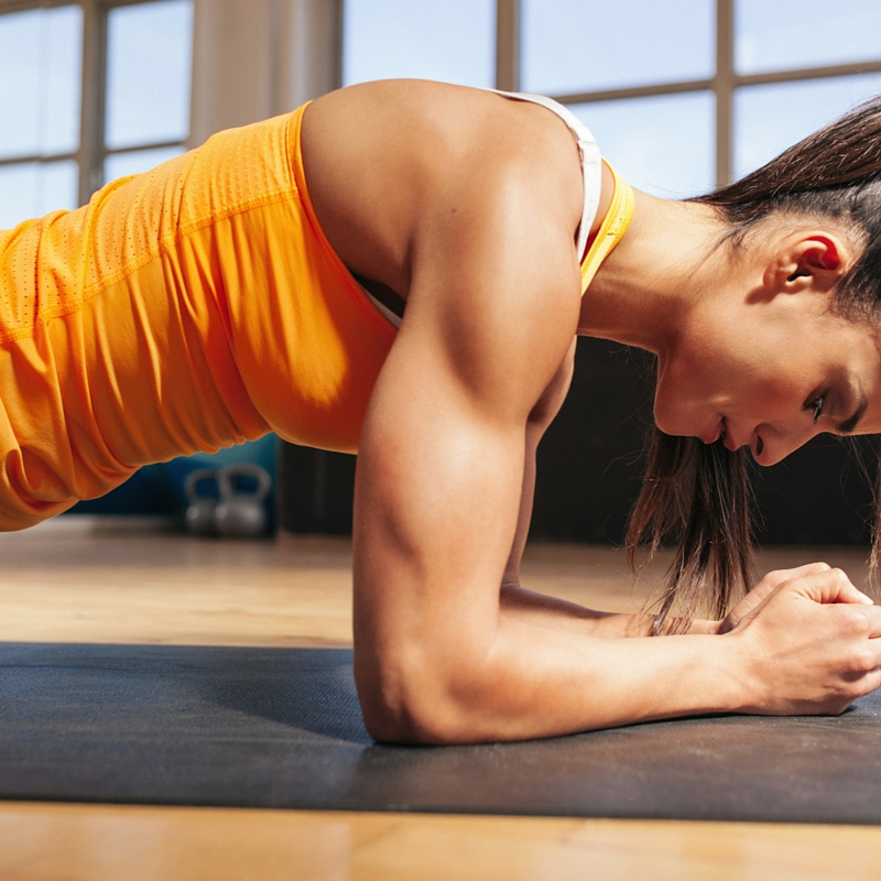 Plank abdominal exercise