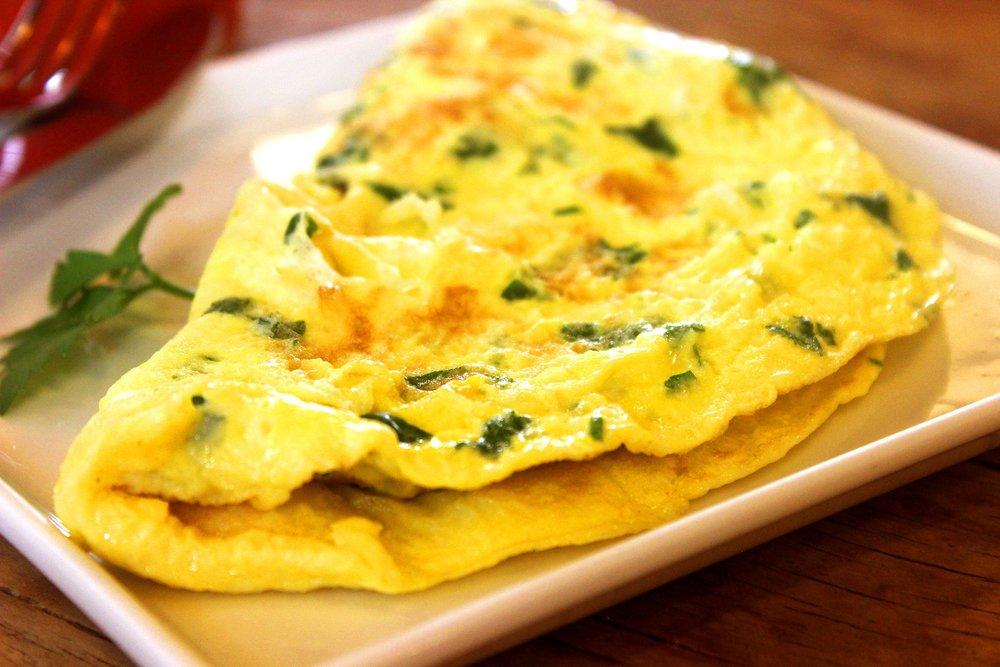 mushroom-omelet