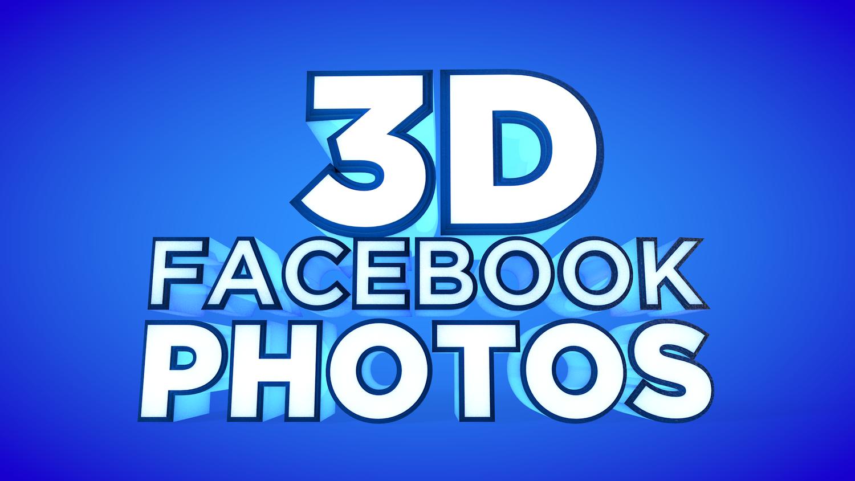 Create Facebook 3D Photos using Photoshop and an iPhone