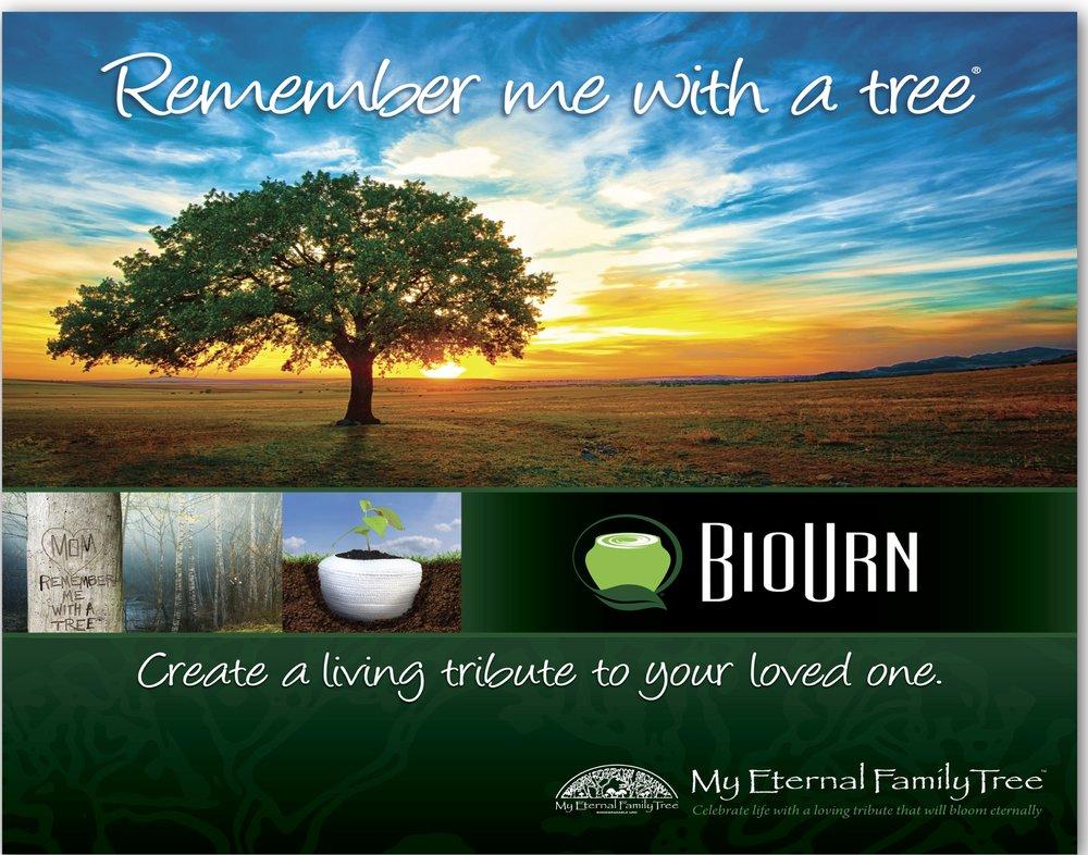 Please contact Bio Urn http://www.myeternalfamilytree.comfor more information.