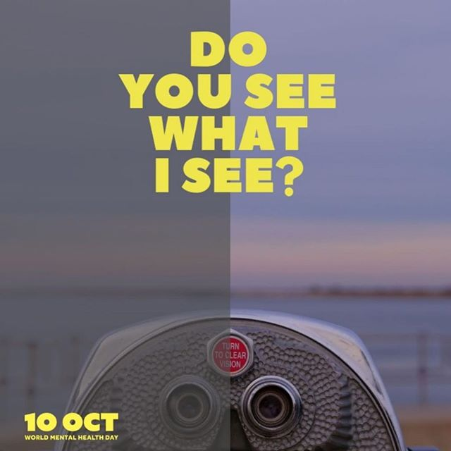 Do you see what is see?  In the spirit of #WorldMentalHealthDay help shed a more positive light on mental health by making a #MentalHealthPromise.  Respect to @aumentalhealth taking proactive approach to wellbeing!  Check out http://1010.org.au to get involved!