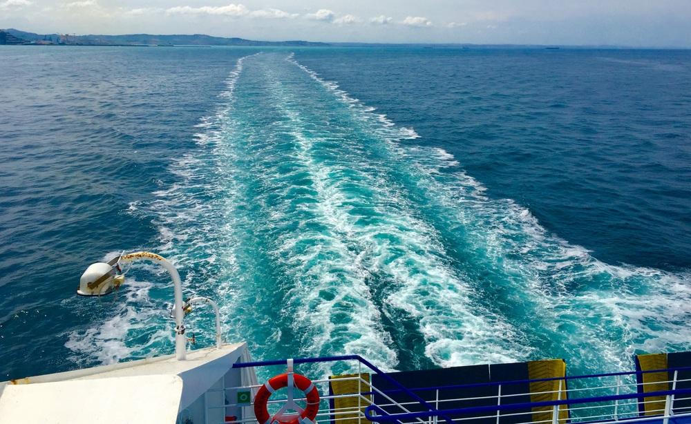 Überfahrt mit der Fähre von Ancona (IT) nach Patras (GR)