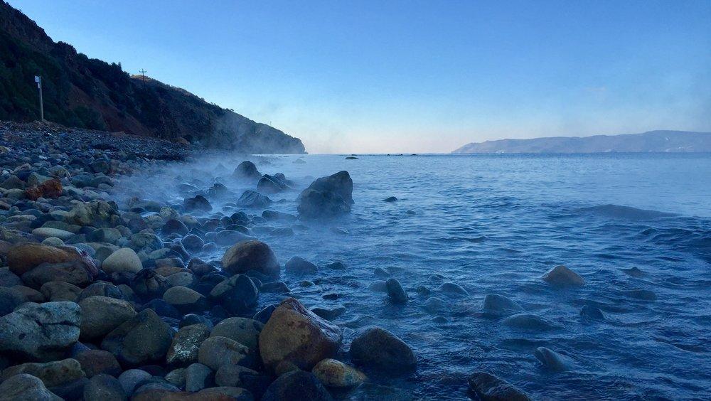 Kälte in Griechenland