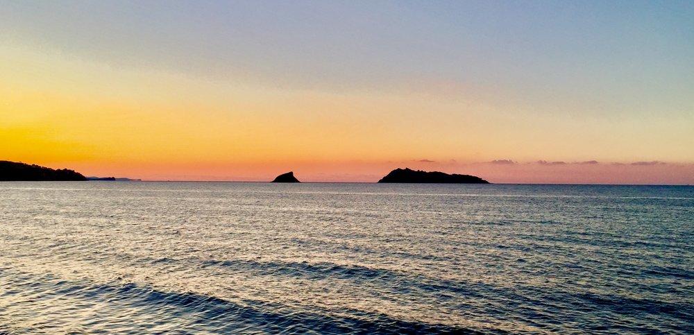 Das Meer bei Molivos.