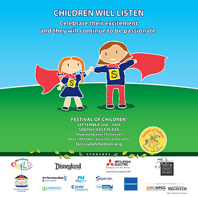 Festival of Children   The Orange County Register  August 27, 2017