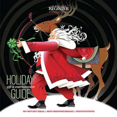 Holiday Gift Guide   The Orange County Register  November 23, 2017