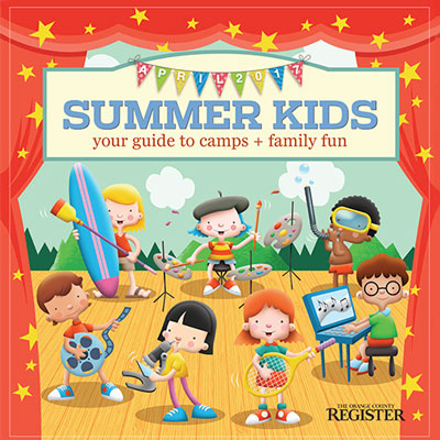 Summer Kids   The Orange County Register  April 9, 2017