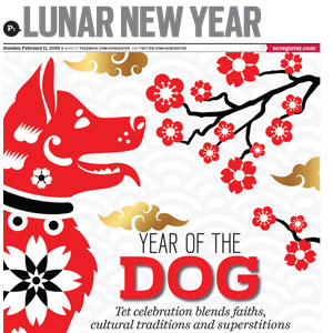 Lunar New Year   The Orange County Register February 11, 2018