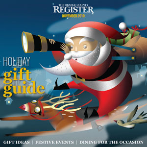 Holiday Gift Guide   The Orange County Register  November 22, 2018