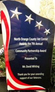 Veterans Administration Community Partnership Award