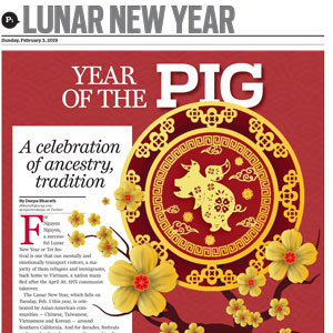 Lunar New Year   The Orange County Register  February 3, 2019