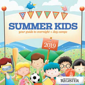 SUMMER KIDS   The Orange County Register  April 7, 2019