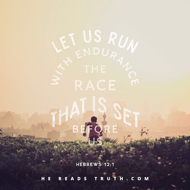Our life is a journey of constant growth, maturing, sacrifice and trusting God with the unknown. #wearerun51 #hereadstruth