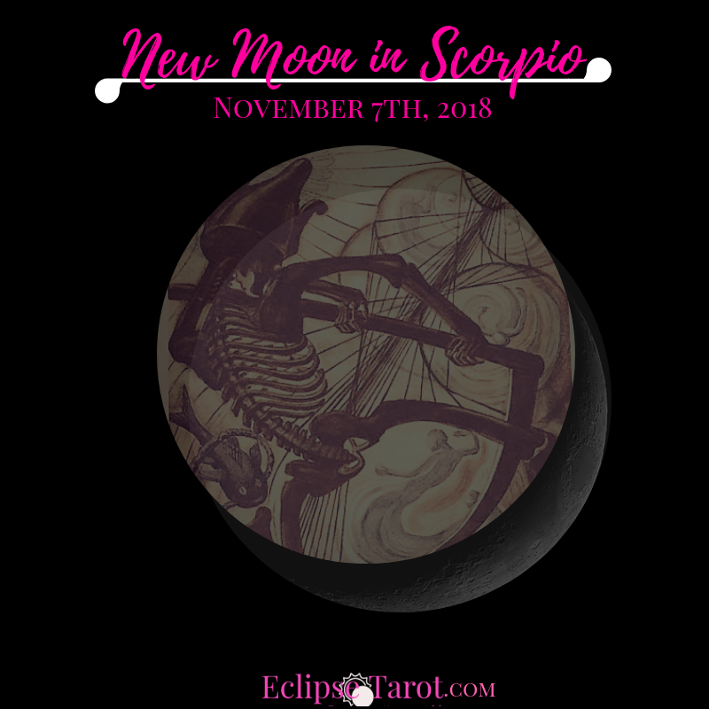 The Sun & Moon come together for a New Moon in Scorpio, the sign of the Phoenix that rises from the ashes, on November 7th, 2018. Here I'll share my take on the energies of this New Moon, including my intuitive insight from what's going on in the cosmos (astrological influence) and wisdom from the Tarot Card aligned with it, so you can leverage this collective energy and move thru this phase with greater confidence. Prepared and aligned with the vibes.