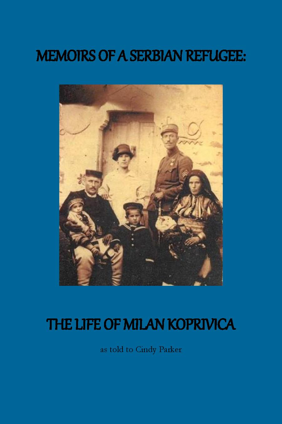 new books are in stock - This book is the life story of our beloved Djedo, Milan Koprivica (Fr. Dusan's father), an ethnic Serb who was born in Macedonia and fled with his family to Serbia after Yugoslavia fell under Nazi Occupation in World War II.To order please click on the button below. All proceeds will go to the church building fund.