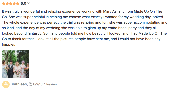 Kathleen Wedding Review