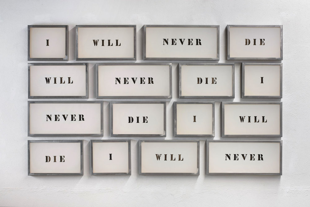 Jordi Tolosa, I will never die, 2009