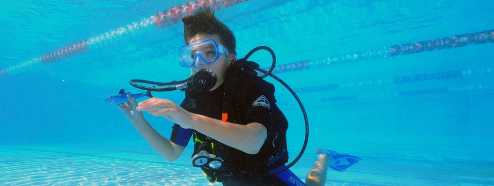 Aquaventures Kids' scuba diving Brisbane