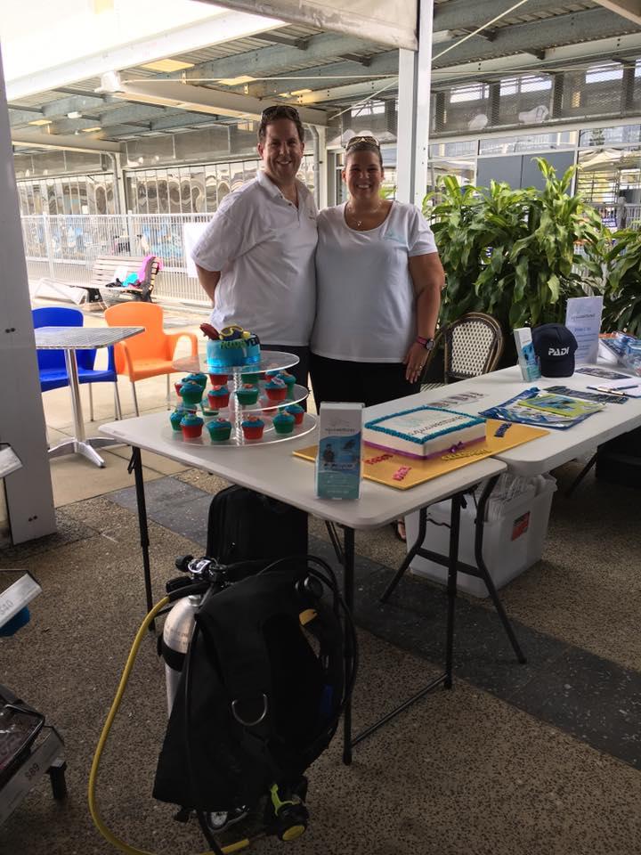 Aquaventures Launch Party Hosts