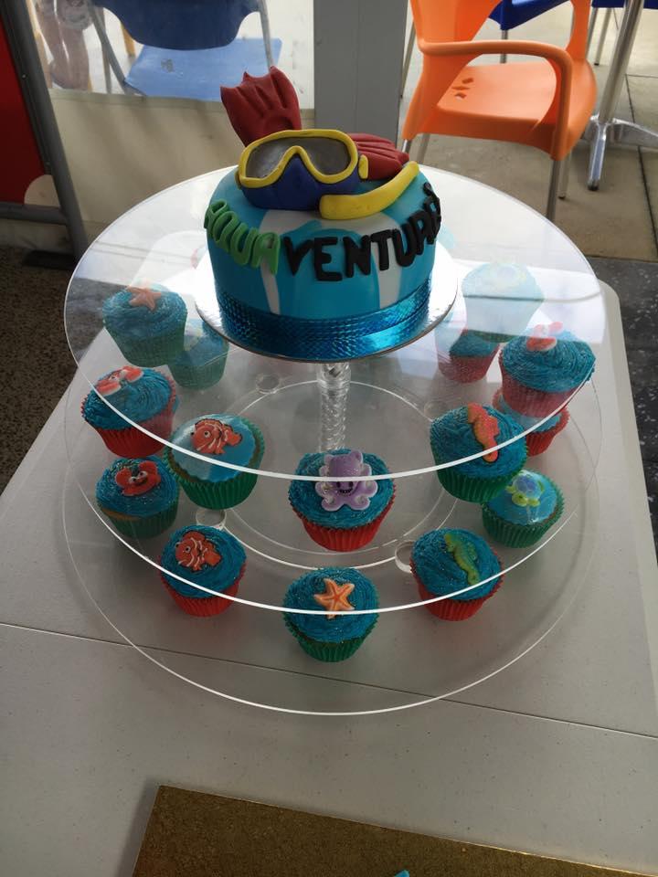 Aquaventures Launch Party Cake