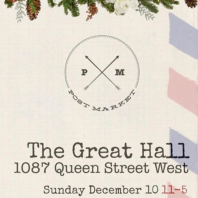 | N E X T  S U N D A Y | . . . 🎁🎄👩🏻‍🍳 . . Haven't started Christmas shopping yet? Fear not - the Spread Team along with some of the city's most delicious and talented makers have you covered at the Holiday Post Market. . . . Come see us at the @thegreathall from 11-5 and get all your holiday elf-ing done for everyone on your list. . . . #holidaypostmarket #greathall #thatsthespread #local #holiday #artisanal #torontofoodie #torontoculinary #christmas