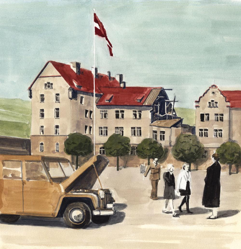 Central Kaserne, Würzburg