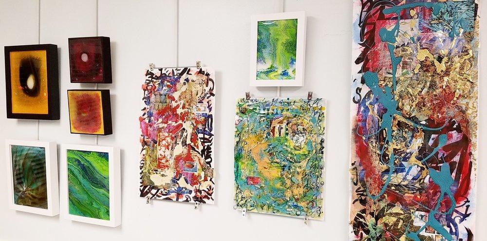 Sneak Peek of artworks by Tristina Dietz Elmes