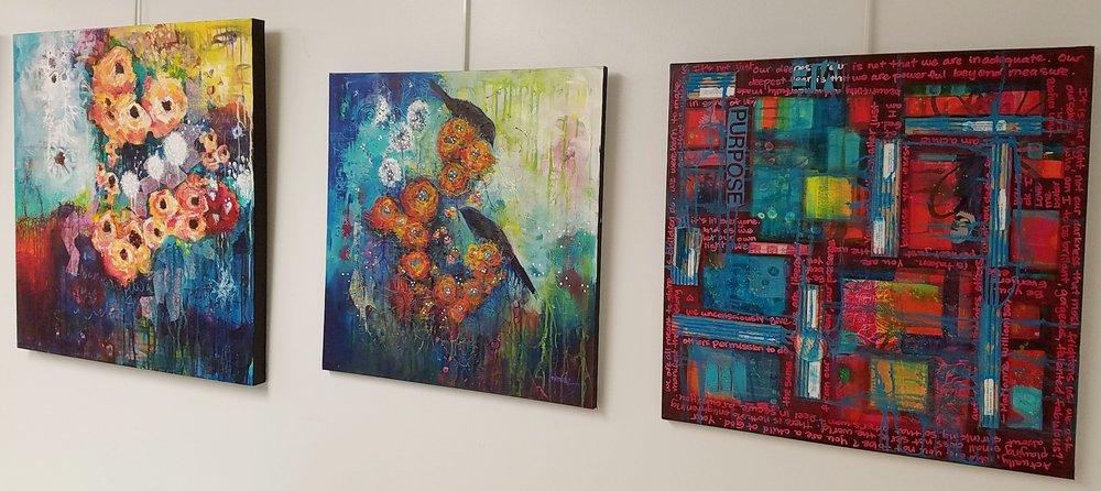 Sneak Peek of artworks by Heather Neiman