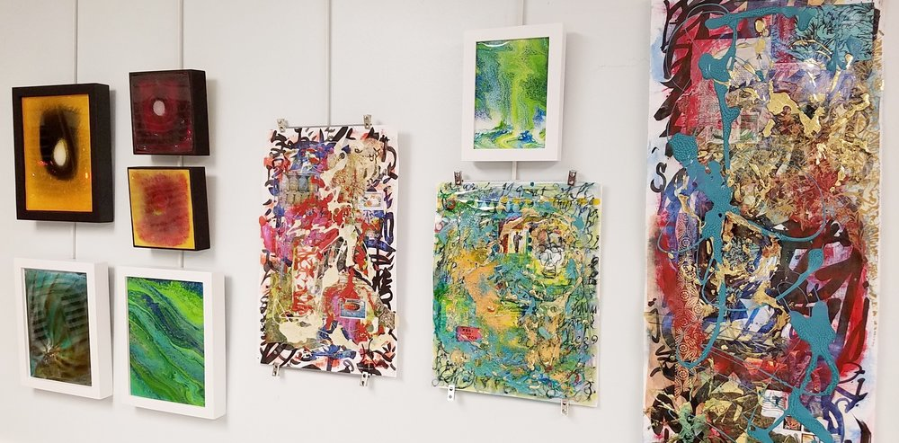 Sneak Peek of artworks by Tristina Dietz Elmes