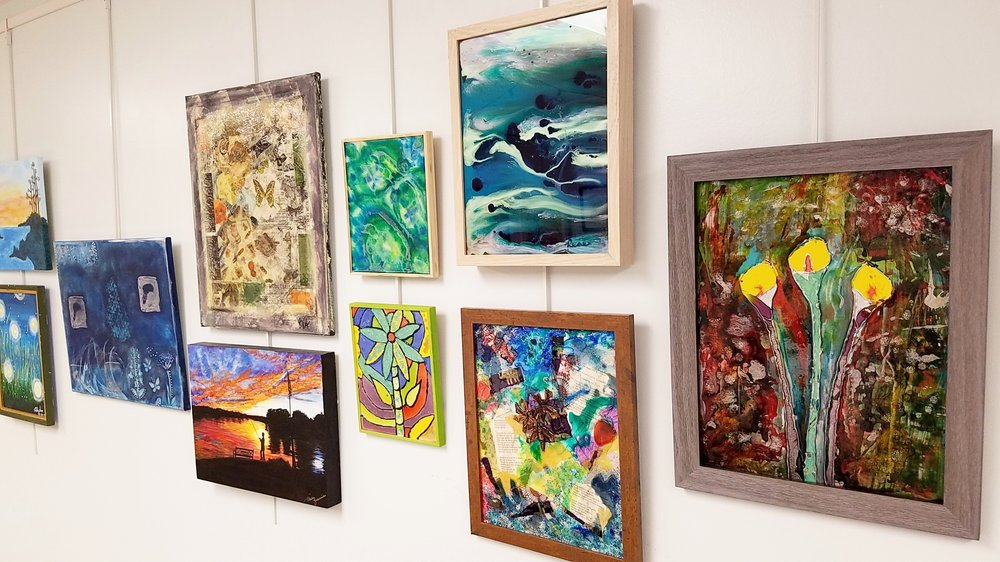 Sneak Peek of artworks by TRAX Art Studios Students.