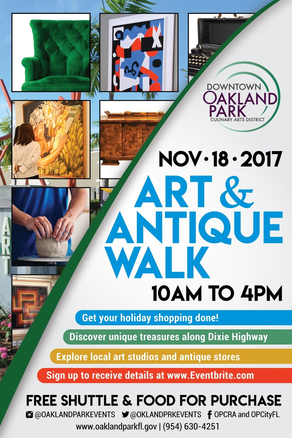 Art and Antique Walk 18 Nov 2017 City of Oakland Park.jpg