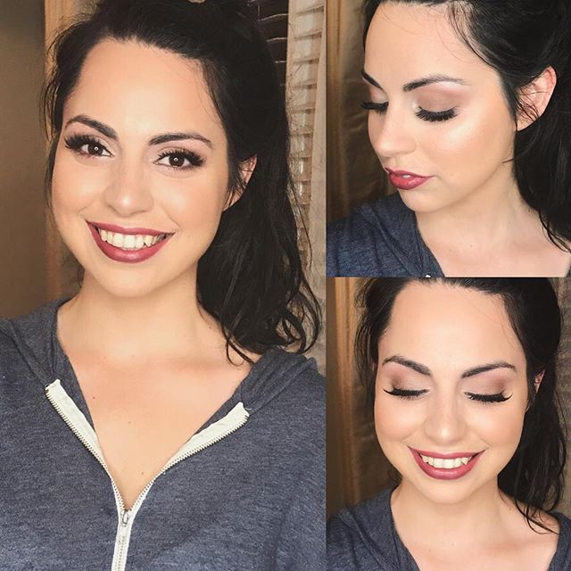 Isn't Brenda @brendazzles a beautiful September Bride or what?!?! . . #makeupartists #hleemouaartistry #atlantaweddings #septemberwedding #septemberbride #glowingskin #softglam #beautifulbride #glowup #atlmua #atlantamakeupartist #atlmakeupartist #bridalmakeupartist #bridemakeup