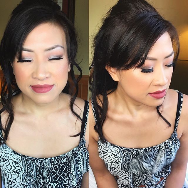 Congratulations @deeyooh and Nick on your wedding day. You are such a beautiful bride and Thank You for having me as your makeup artist 😊 . . #septemberbride #beautifulbride #hleemouaartistry #atlantabride #asianbride #bridemakeup #atlmakeupartist #glowup #atlmua #bridalmakeupartist #thankfulandblessed #beautifulwedding #atlantaweddings #bridesmaidsmakeup