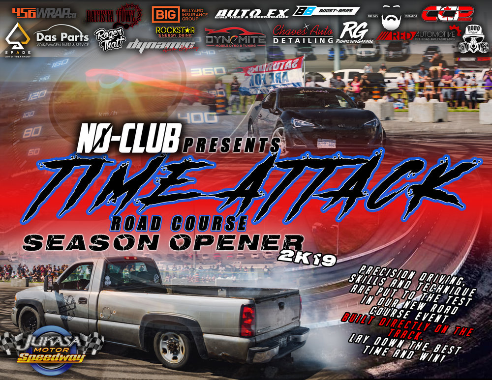 Time Attack Road Course - We're going to be creating a road course consisting of sharp and wide turns for all you drifters and precision drivers out there. Taking place on Saturday ONLY, participants will try and set the best time for the course and take home the trophy!More Details to be Determined.