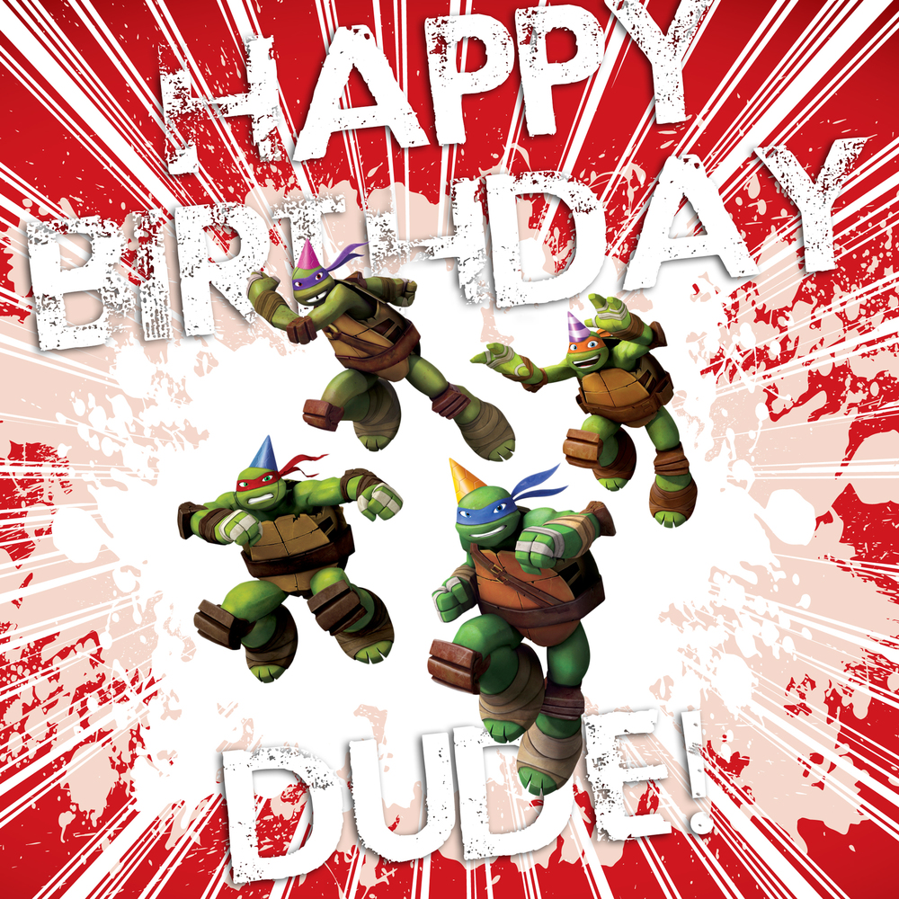 Stock image created for birthday requests on TMNT Twitter.