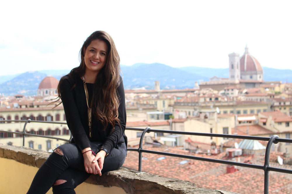 The views from Florence's rooftops are stunning and make gorgeous backgrounds!