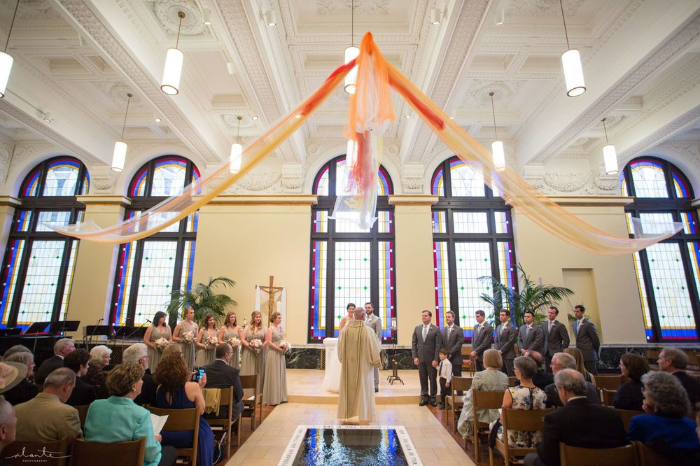 Wedding at Christ Our Hope by Alante Photography http://www.alantephotography.com