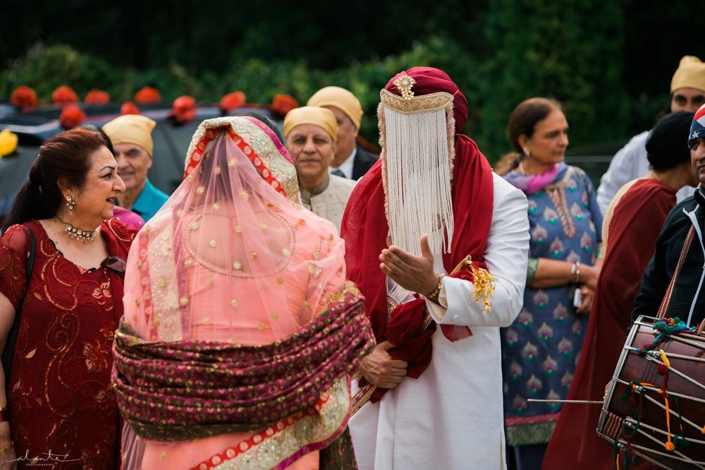Sikh Indian Wedding Baraat Photography by Alante Photography http://www.alantephotography.com