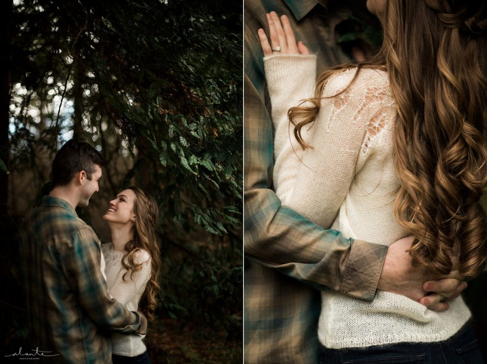 Pacific Northwest vibe for Seattle Engagement Photos by http://www.alantephotography.com
