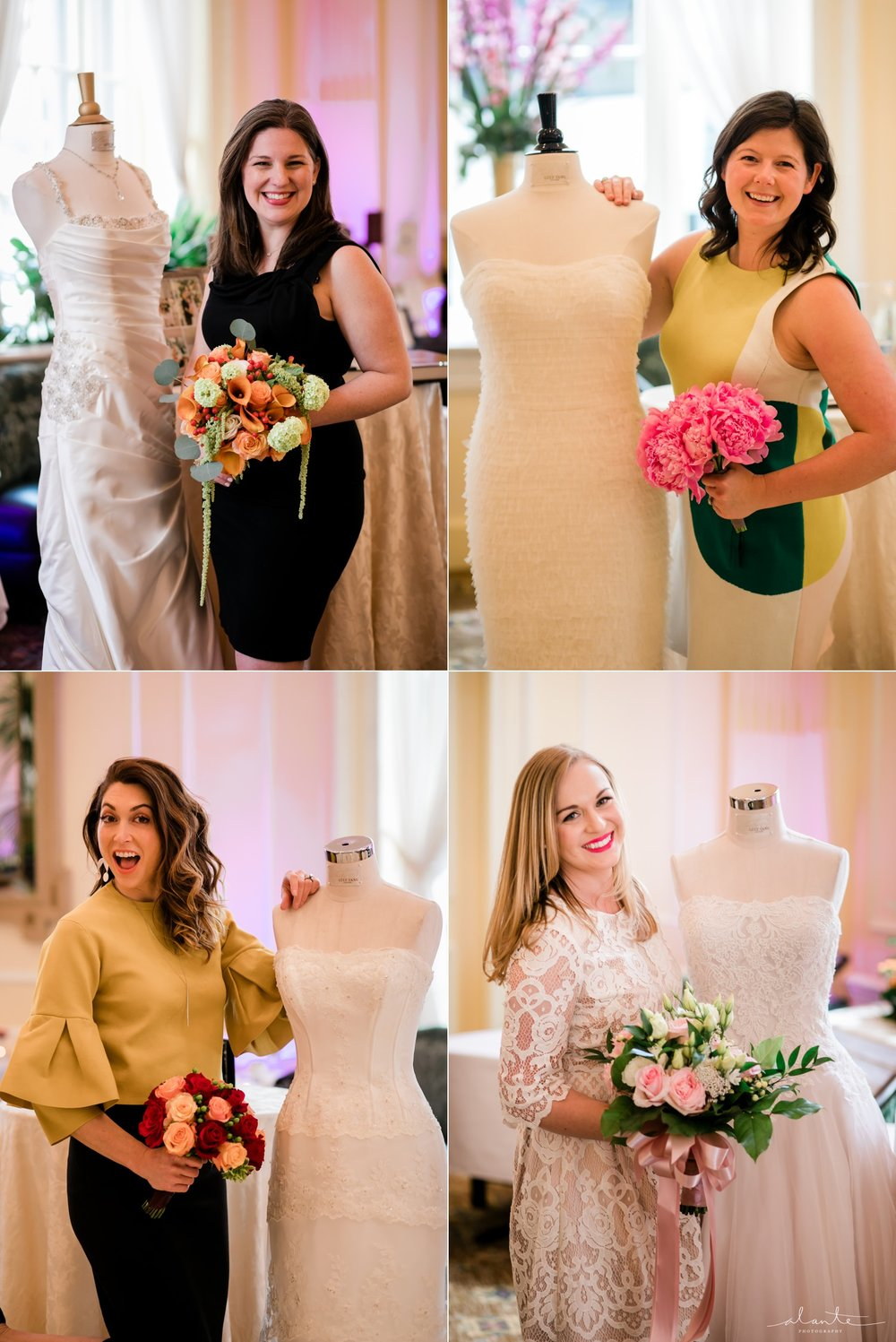 Seattle Wedding Coordinators with their Bouquets