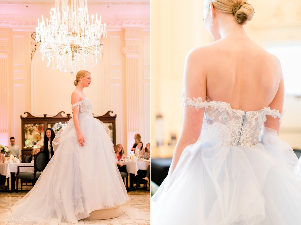 Blue Wedding Dress from Luly Yang
