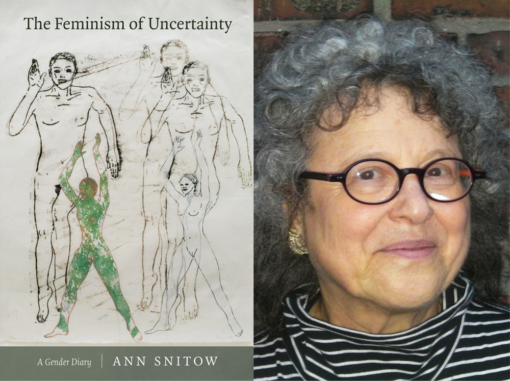 Cover for  The Feminism of Uncertainty /  Ann Snitow