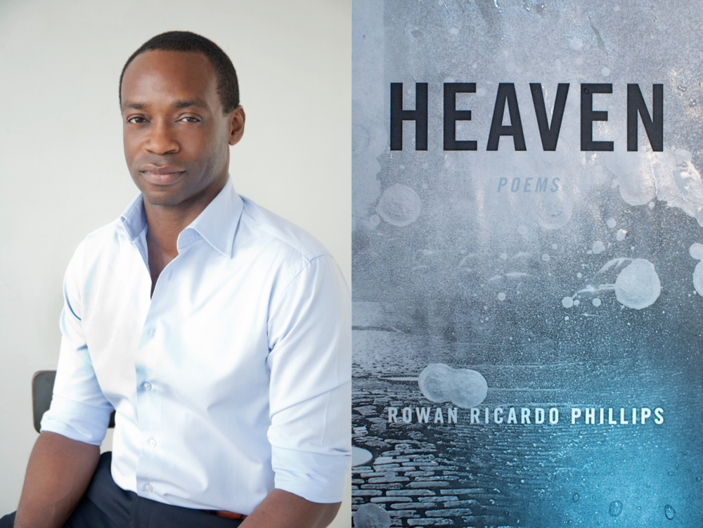 Rowan Ricardo Phillips / Cover for  Heaven