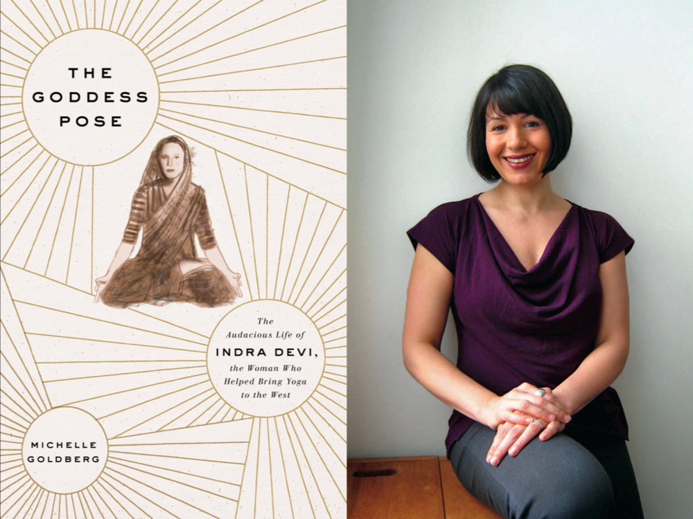 Cover for  The Goddess Pose /  Michelle Goldberg