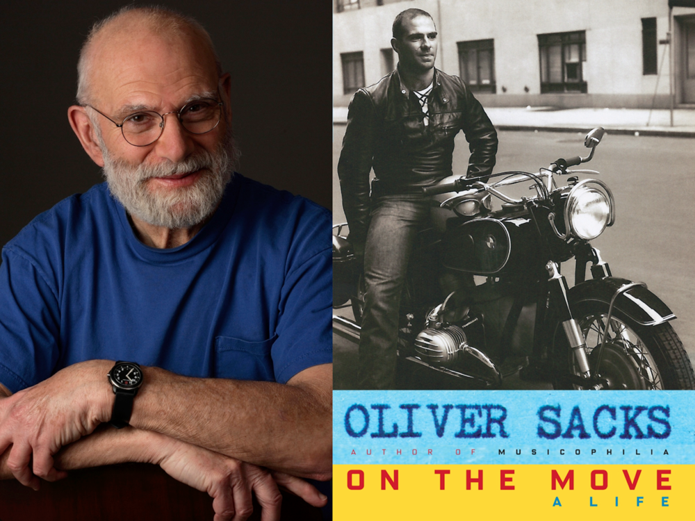 Oliver Sacks / Cover for  On the Move