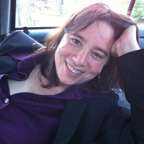 Photo of Sarah Schulman by B.H. Yael
