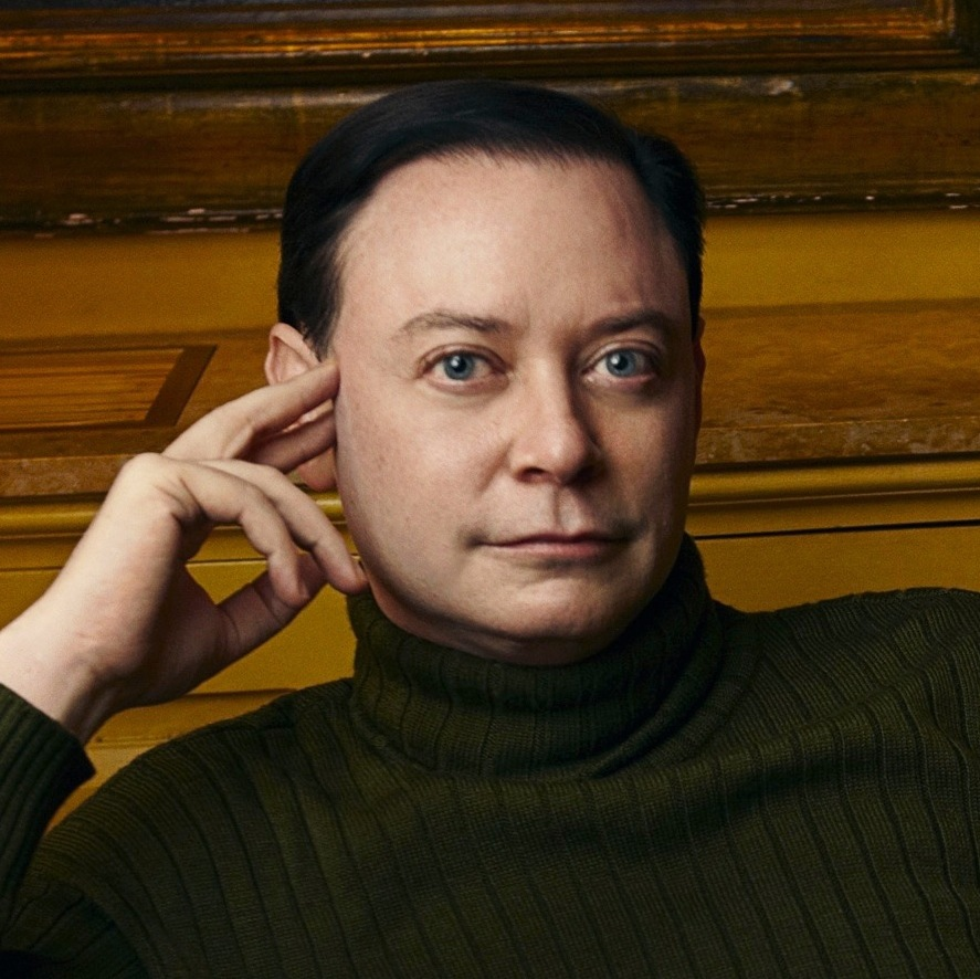 Photo of Andrew Solomon by Annie Leibovitz