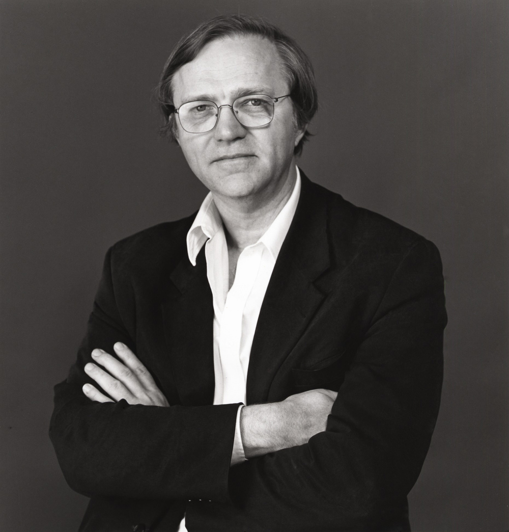 Photo of Robert Storr by Herbert Lotz