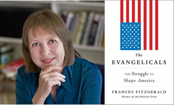Frances FitzGerald /Cover for  The Evangelicals