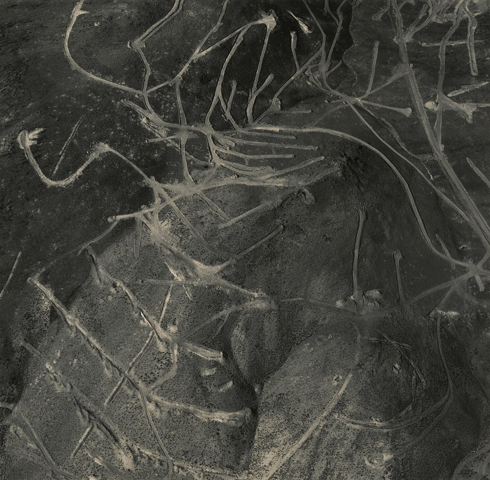 Mining Exploration Near Carson City, Nevada, 1988, Emmet Gowin. Copyright Emmet and Edith Gowin. Courtesy Pace/MacGill Gallery, New York